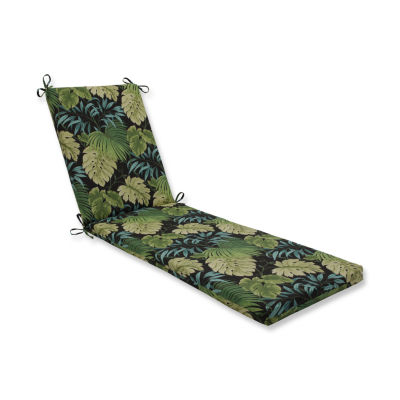 Pillow Perfect Outdoor / Indoor Tropique Peridot Chaise Lounge Cushion 80x23x3