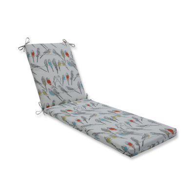 Pillow Perfect Outdoor / Indoor Retweet Mango Chaise Lounge Cushion 80x23x3