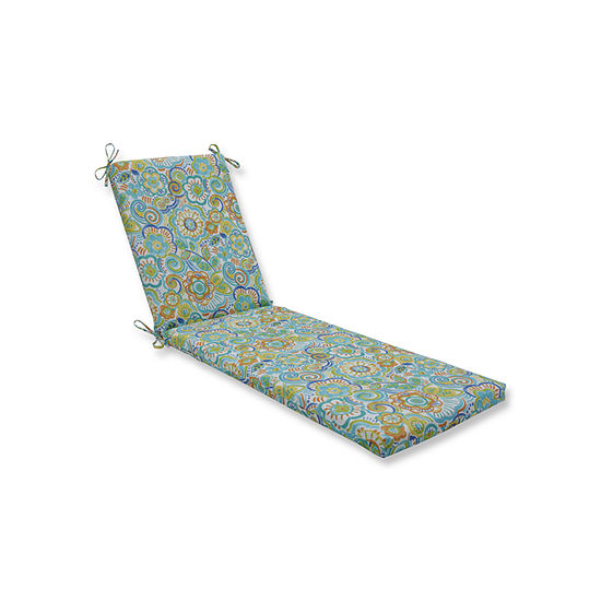 Pillow Perfect Outdoor / Indoor Bronwood Chaise Lounge Cushion 80x23x3