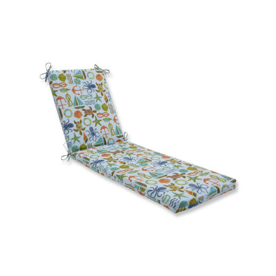 Pillow Perfect Outdoor / Indoor Seapoint Chaise Lounge Cushion 80x23x3