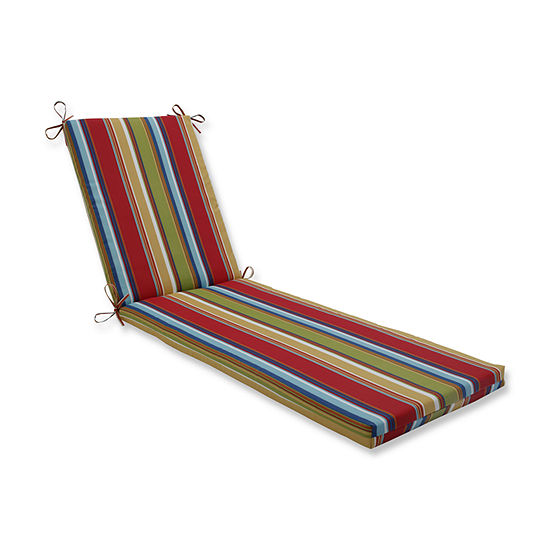 Pillow Perfect Outdoor / Indoor Westport Chaise Lounge Cushion 80x23x3