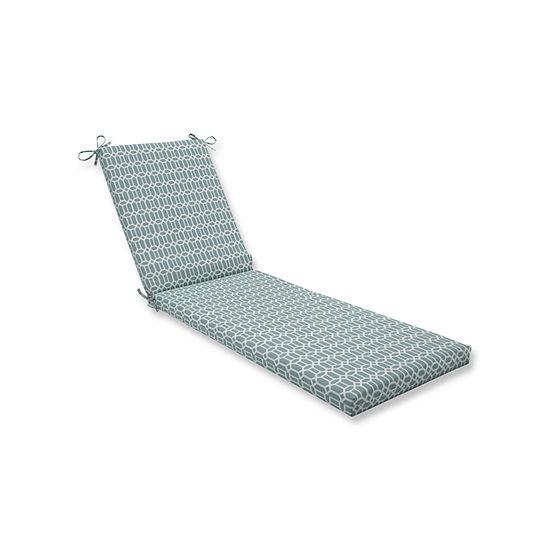 Pillow Perfect Outdoor / Indoor Rhodes Quartz Chaise Lounge Cushion 80x23x3