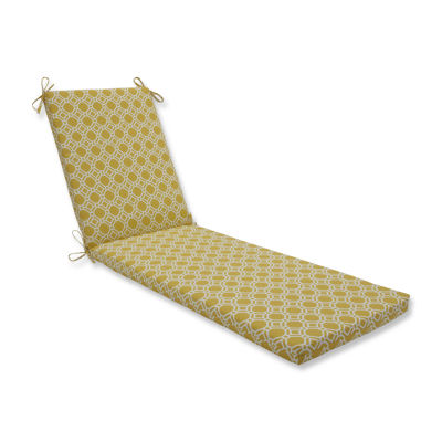 Pillow Perfect Outdoor / Indoor Rossmere SunshineChaise Lounge Cushion 80x23x3