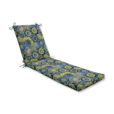 Pillow Perfect Outdoor / Indoor Omnia Lagoon Chaise Lounge Cushion 80x23x3