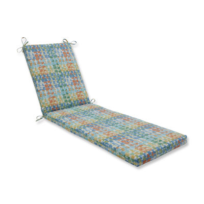 Pillow Perfect Outdoor / Indoor Quibble SunsplashChaise Lounge Cushion 80x23x3