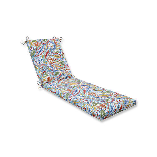 Pillow Perfect Outdoor / Indoor Ummi Multi ChaiseLounge Cushion 80x23x3