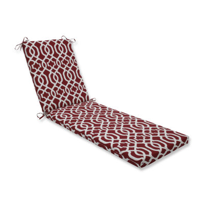 Pillow Perfect Outdoor / Indoor New Geo Chaise Lounge Cushion 80x23x3