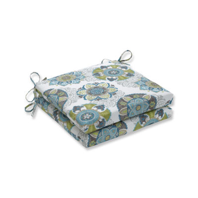 Pillow Perfect Outdoor / Indoor Allodala Oasis Squared Corners Seat Cushion 20x20x3 (Set of 2)