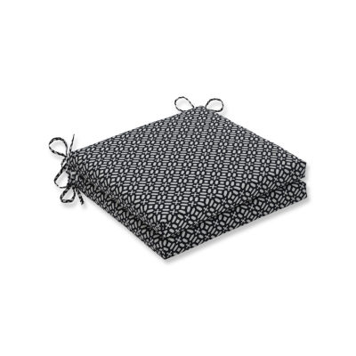 Pillow Perfect Outdoor / Indoor In The Frame Squared Corners Seat Cushion 20x20x3 (Set of 2)