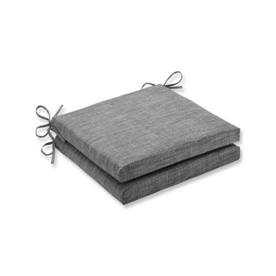 Pillow Perfect Outdoor / Indoor Remi Squared Corners Seat Cushion 20x20x3 (Set of 2)