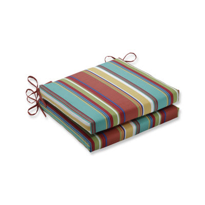 Pillow Perfect Outdoor / Indoor Westport Squared Corners Seat Cushion 20x20x3 (Set of 2)