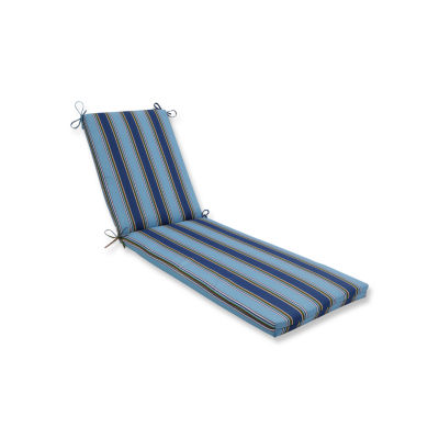 Pillow Perfect Outdoor / Indoor Bonfire Regata Chaise Lounge Cushion 80x23x3