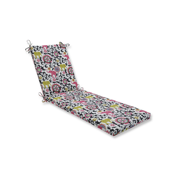 Pillow Perfect Outdoor / Indoor Menagerie Chaise Lounge Cushion 80x23x3