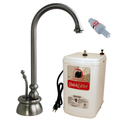 Westbrass D261H Calorah Traditional 10 in. Hot Water Dispenser and Tank
