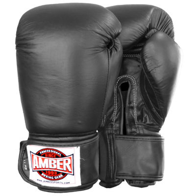Professional Muay Thai Hook & Loop Training Gloves
