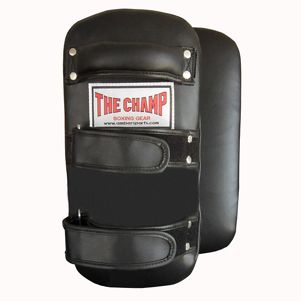 The Champ Muay Thai Kick Curved Pads Pair