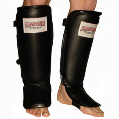 Leather Shin and Instep Protector
