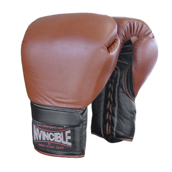 Invincible Pro Lace up Training Gloves