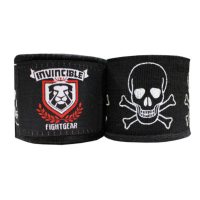 "Amber Invincible Elastic Thick Printed 180"" Handwraps"