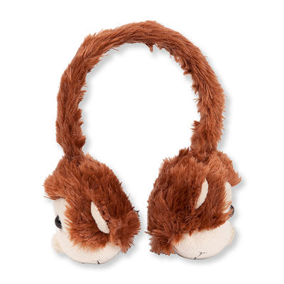 ReTrak Animalz Retractable Monkey Headphones