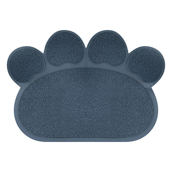 Petmaker Paw Shaped Food and Litter Mat