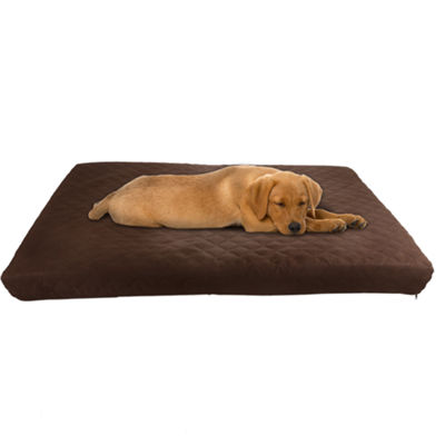 Petmaker Waterproof Memory Foam Indoor Outdoor Pet Bed In Brown