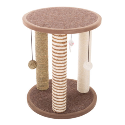Petmaker Cat Scratching Post with 3 Large Scratching Poles