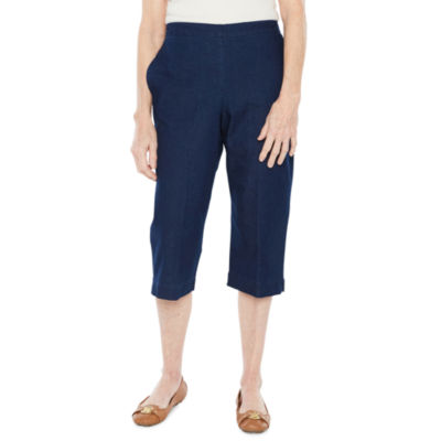 Alfred Dunner Out And About Capris-Petites