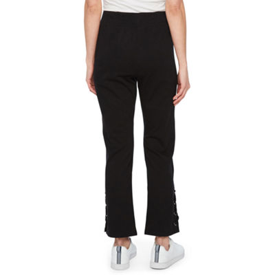 St. John's Bay Active Slim Fit French Terry Pull-On Pants