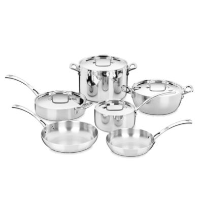 Cuisinart French Classic 10-pc. Stainless Steel Cookware Set