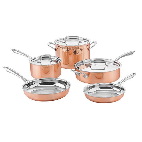Cuisinart 8-pc. Copper Cookware Set