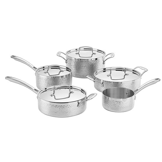Cuisinart 9-pc. Stainless Steel Cookware Set