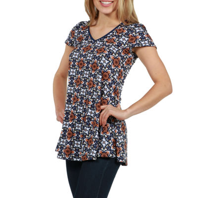 24/7 Comfort Apparel Bella Tunic Top
