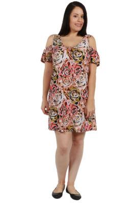 24/7 Comfort Apparel Gwen Dress - Plus