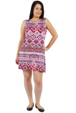 24/7 Comfort Apparel Piper Dress - Plus