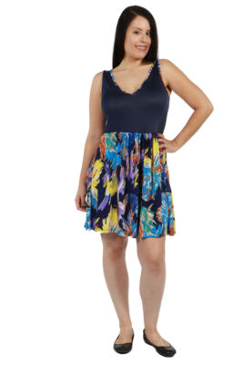24/7 Comfort Apparel Cynda Dress - Plus