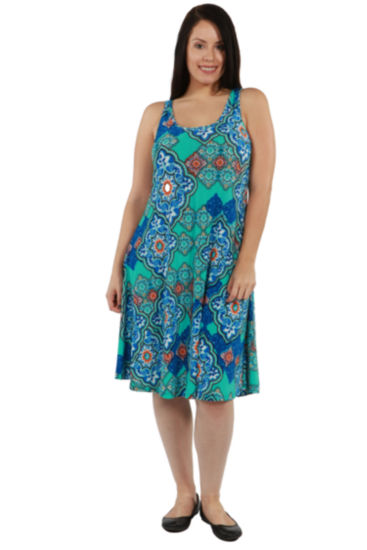 24/7 Comfort Apparel Lyric Dress - Plus