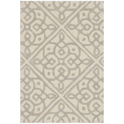Safavieh Devona Geometric Hand Tufted Wool Rug
