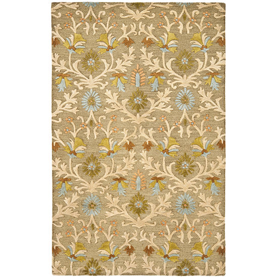 Safavieh Euler Floral Hand Tufted Wool Rug