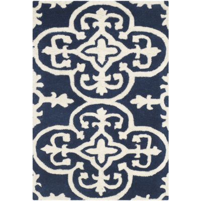 Safavieh Ewart Geometric Hand Tufted Wool Rug