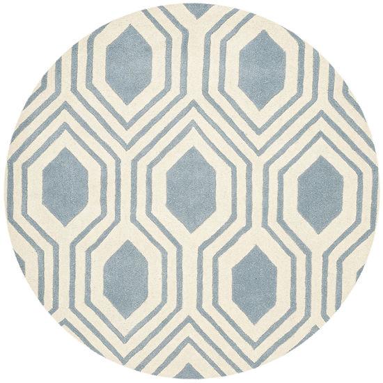 Safavieh Erin Geometric Hand Tufted Wool Rug