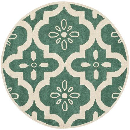 Safavieh Eadaoin Geometric Hand Tufted Wool Rug, One Size , Green Product Image