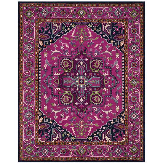 Safavieh Crawford Geometric Hand Tufted Wool Rug