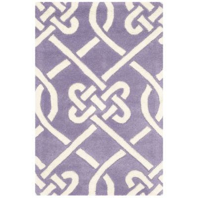 Safavieh Denzel Geometric Hand Tufted Wool Rug