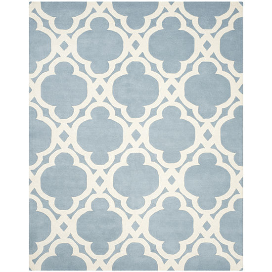 Safavieh Devereux Geometric Hand Tufted Wool Rug