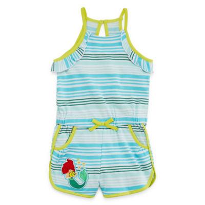 Disney Sleeveless The Little Mermaid Romper - Toddler
