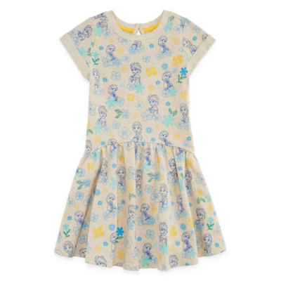 Disney Short Sleeve Frozen Skater Dress - Toddler