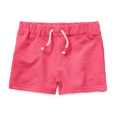 Okie Dokie Heart Baby Girls Pull-On Short