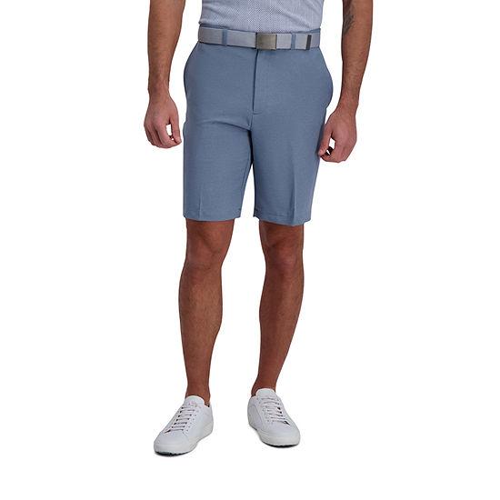 Haggar® Cool 18® Pro Melange Classic Fit Flat Front Short