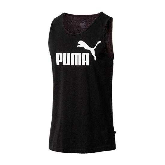 Puma Mens Crew Neck Sleeveless Tank Top
